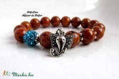 Életirány kollekció 2.- ásvány karkötő (NikoLizaEkszer) - Meska.hu Beaded Bracelets, Beads, Jewelry, O Beads, Jewellery Making, Jewels, Pearl Bracelets, Jewlery, Bead