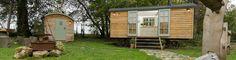 The Retreat Shepherd Hut by Blackdown Shepherd Huts UK