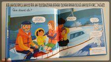 Livres enfants - Des histoires pour faire parler les enfants - Tous en bateau - Editions Nathan