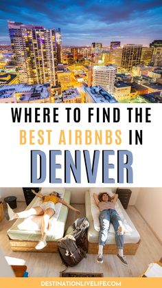 Airbnb has become one of the best ways to travel comfortably, and affordably. And if you're looking for the best Airbnb in Denver for an upcoming trip, then look no further! Click here for incredible options in Downtown Denver and beyond l Airbnb in Denver l Airbnb Denver l Airbnb Denver Colorado l Denver Airbnb l Best Airbnb in Denver l Best Airbnb Denver l Where to Stay in Denver l Denver Where to Stay l Denver Colorado Airbnb l Where to Stay in Denver CO l Where to Stay in Denver Colorado Road Trip To Colorado, Colorado Hiking, Denver Colorado, Colorado Tourism, North America Destinations, Denver Travel, Denver City, Best Rooftop Bars, Capitol Building