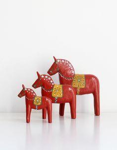 Zweeds paard Holmestad – rood