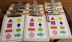 Teaching ideas for kindergarten and primary grades. Hands on lessons and activities for young kids including a shape hunt! Kindergarten Math Worksheets, Teaching Kindergarten, Activities For Kids, Teaching Ideas, Preschool Ideas, Outdoor Classroom, Math Classroom, Outdoor Learning, Outdoor Play