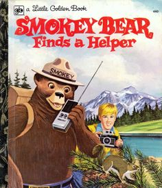 Little Golden Book Smokey Bear Finds a Helper Book 345 Funny Memes, Hilarious, Funny Shit, Funny Stuff, Tgif Funny, Funny Quotes, Squirrel Pictures, Smokey The Bears, Bad Kids