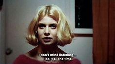 Natassja Kinski's blonde bob in Paris, Texas (1984)