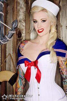 Sabina Kelley - Sailor #pinup