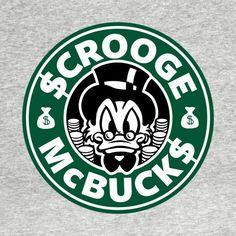 Disney Starbucks, Starbucks Logo, Starbucks Coffee, Starbucks Crafts, Uncle Scrooge, Images Disney, Disney Duck, Custom Starbucks Cup, Scrooge Mcduck
