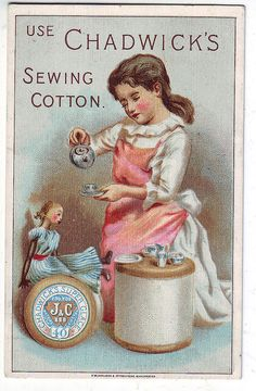 ephemera sewing cards | Recent Photos The Commons Getty Collection Galleries World Map App ...