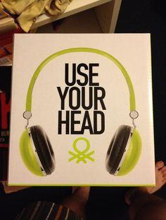 Neuer Kopfhörer von Benetton in limonengrün und ovp. Wie skullcandy, wesc, urbanears oder Monster Beats by dre.