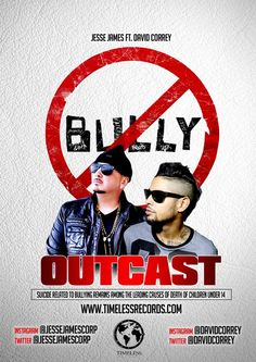 Jeese James ft David Correy - Outcast **VIDEO** (Anti-Bullying song & video) #newmusic