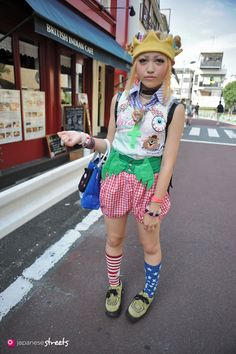 130728-7799 - Japanese street fashion in Harajuku, Tokyo