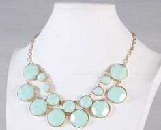 Statement Jewelry Cluster Necklace Bubble by ...