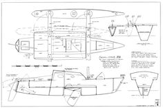 Seaclipper 24 Trimaran Micro-Cruiser Plans Ready-to-Go