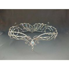 Northwest Bride Wedding Crown Tiara ❤ liked on Polyvore featuring accessories, hair accessories, celtic hair accessories, tiara crown, bride hair accessories, bridal tiaras and bridal hair accessories