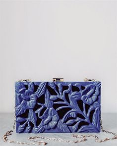 Exquisite hand carved rectangular clutch with tropical inspired detail, signature lock and hardware Acacia WoodLacquer finishGold metal lock and chainBlack lining Human Trafficking, Acacia Wood, Hand Carved, Artisan, Carving, Collections, Metal, Inspiration, Craftsman