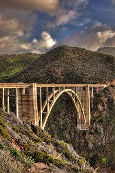 Bixby Bridge, Hwy 1-California