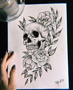 ornamental lion tattoo © tattoo artist Ljungberg Tattoo 💕🐵💕🐵💕🐵💕🐵💕 diy tattoo images - tattoo images drawings - tattoo images women - tattoo images vintage - tattoo images ideas - tattoo images men - t Skull Tattoo Flowers, Flower Tattoo Designs, Flower Tattoos, Skull Tattoo Design, Sleeve Tattoo Designs, Skull Drawing With Flowers, Sketches Of Flowers, Small Skull Tattoo, Mini Tattoos
