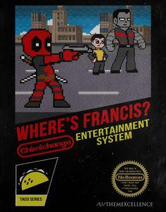 NES Cover: Where's Francis? #Deadpool