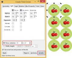 #RepeatingPatterns are now easier than ever with #Inkscape. Full #PhotoTutorial here: