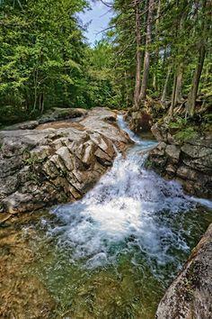 The Basin Falls, White Mountains, NH
