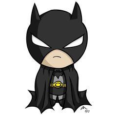 Baby Batman Cartoon Clipart