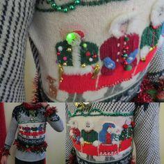 Hysterical VTG  Tacky Ugly Christmas Sweater by tackyuglychristmas