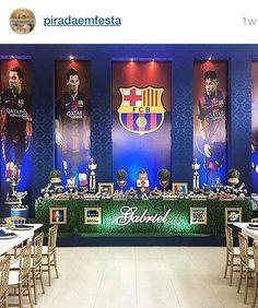 ⚽️ Soccer Birthday Parties, Football Birthday, Birthday Party Themes, Boy Birthday, Birthday Invitations, Soccer Baby, Soccer Theme, Barcelona Party, Fc Barcelona