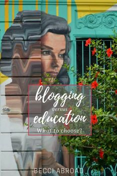 Blogging versus education – what should you choose? I chose an extra Master degree abroad in Buenos Aires over growing my blog  #blogging #education #MasterDegree #Masterstudent #MasterProgram #StudyAbroad #study #LifeAbroad #Abroad #LivingAbroad #BuenosAires #studyBuenosAires #Argentina Choose Me, Study Abroad, Blogging, About Me Blog, Student, Education, Buenos Aires, Buenos Aires Argentina, Blog