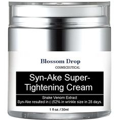 Blosoom Drops SynAke Super Tightening Cream  Loose Skin Tightening Anti Wrinkle ** Continue to the product at the image link.(This is an Amazon affiliate link and I receive a commission for the sales)