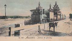 Station of Bulcley ALEXANDRIA , EGYPT 1898