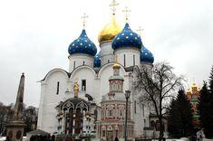 世界遺産・ウスペンスキー大聖堂 (セルギエフ・ポサード)