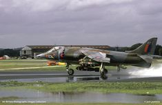 Picture of Hawker Siddeley Harrier taken at Farnborough (FAB / EGLF), UK - England by jack poelstra on ABPic Post War Era, Experimental Aircraft, Military Units, Royal Air Force, Air Show, Cold War, Rolls Royce, Airplanes, Fighter Jets