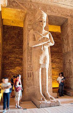Plan to save the Temples of Abu Simbel There are two temples at Abu Simbel: the Great Temple of Ramses II and the small temple of Nefertari. Ancient Art, Ancient Egypt, Ancient History, Egypt Tourism, Egypt Travel, Egyptian Temple, Egyptian Art, Egyptian Things, Ramses