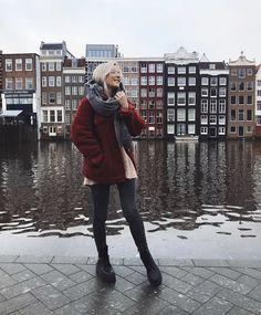04b97cd4b Inspiração Para Viagens, Viagem, Inverno, Estilo De Rua Amsterdam, Amsterdam  Fashion,
