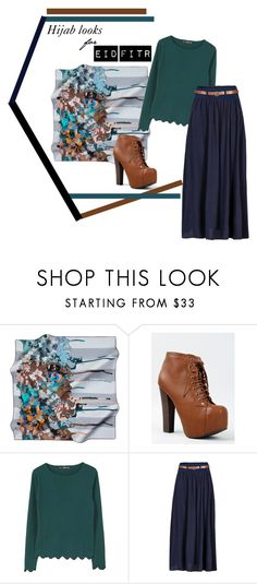 """Eid Fitr Looks"" by nesyafauzi on Polyvore featuring Breckelle's, MANGO and Venus"