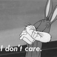 funny Black and White vintage cartoon bugs bunny Grunge - Funny Troll & Memes 2019 Bd Pop Art, Cartoon Quotes, Cartoon Art, Cartoon Characters, Vintage Cartoon, I Don't Care, My Mood, Current Mood, Mood Quotes