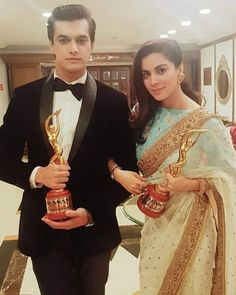 Mohsin khan with Shraddha arya Tv Actors, Actors & Actresses, Mohsin Khan, Stylish Suit, Star Images, Indian Attire, Bollywood Stars, Bollywood Celebrities, Arya