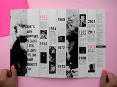 Hacedores del Mundo - Lou Reed on Editorial Design Served