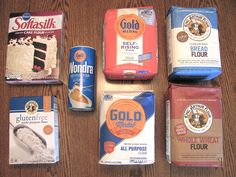 A Myriad of Flours! -- This article by Taste of Home goes over the basics of these flours: Cake, instant, bread, self-rising, whole wheat, gluten free multi-purpose, and all purpose flour. Really a great article and makes me want most all of these in my pantry. =3
