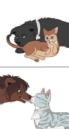 Levi and Hanji cat design by Kyomitsu >> www.pixiv.net/member.php?id=92… ------------------------------------------------------ Attack on Titan (Shingeki no Kyojin) © Hajime Isayama Ar...