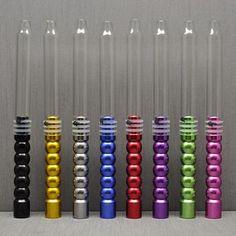 1 pc 1.9m 370g  Aluminum Glass Stem Shisha Hookah Hose Silicone Hose ChiCha Pipe Tube Shisha Hookah Head Bowl Accessories #Affiliate