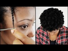 ▶ How To Trim Natural Hair Split Ends YOURSELF! - YouTube