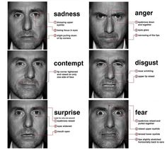 Décrypter les microexpressions