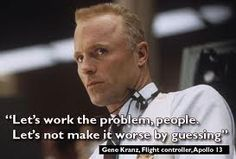 Can't even say how many times I've seen this movie.  But this man (Gene Kranz that is), is the reason I met my husband.  :-)