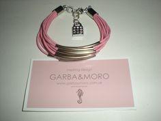 pink GALVIA bracelet  http://www.etsy.com/shop/GARBAMORO