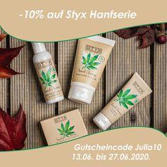 Hanföl ist der Trend! Julia berichtet euch in ihrem neuen Blog, wie das Hanf Duschgel von Styx unter der Dusche abgeschnitten hat. Schaut mal bei uns auf Bloghouse.io vorbei … Auf hairtrader.at – dem Online-Shop von ROMA Friseurbedarf – findest du eine tolle Aktion. Du erhältst online -10% auf die Styx Hanfserie unter dem Gutscheincode Julia10 von 13.06. bis 27.06.2020.  #hemp #oil #hair #care #beauty #blog #bloghouseio Starbucks Iced Coffee, Coffee Bottle, Lupe, Drinks, Instagram, Blog, Beauty, Shower Gel, Gift Cards