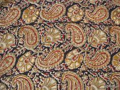 Big Paisley Print Vegeatble Dye Indian Handloom by theDelhiStore