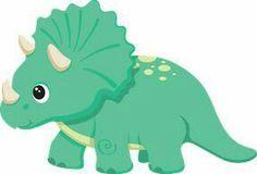 Die Dinos Baby, Baby Dinosaurs, Felt Animal Patterns, Felt Templates, Dinosaur Crafts, Dinosaur Birthday Party, Applique Patterns, Animal Drawings, Clipart