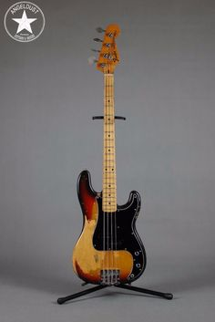 Fender Precision Bass 1974 Sunburst Maple