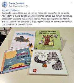 Gloria Candioti Leo, Books, Verses, Early Childhood, Short Stories, Reading, Libros, Art, Book