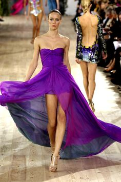 Ungaro - Spring/Summer 2007. Such a spectacular gown!